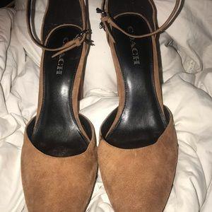 Brand new Coach heels